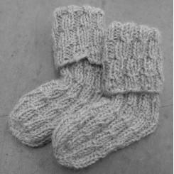 Baby Sokker opskrift